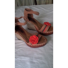 Zapatos, Sandalias, Botasbotines Tejidos A Crochet
