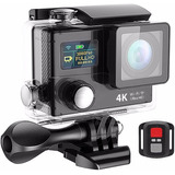 Camara Deportiva Video 4k / Wifi + Pack Accesorios