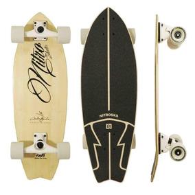 Nitrosk8 Skateboards Carlos Burle Bambu