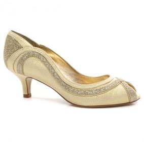 Sapato Laura Porto Peep Toe Mr1353 (nota Fiscal)   Zariff