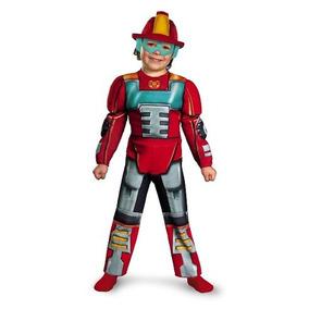 Transformers Heatwave Rescue Bot Kids Costume