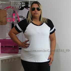 Camiseta Blusa Tshirt Feminina Plus Size Swag G1 G2 G3 G4 G5