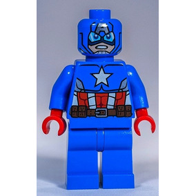 Lego Capitan America C/escudo 76048 Original Legobricksrfun