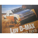 Camioneta Chevrolet Luv Dmax Revista Coleccion Año 2004 / M4