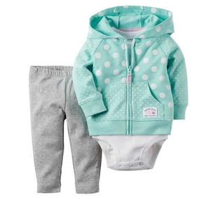 Conjunto Carters Para Niña Pantalón,pañalero Y Cham - Envio
