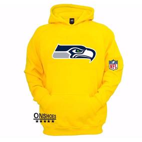 Blusa Moleton Seattle Seahawks Nfl - Promoção 8b18e7e03823b