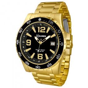 Relógio Xgames Xmgs1027 P2kx Masculino Dourado - Refinado