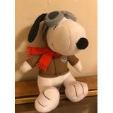 Peluche Snoopy Aviador Eeuu Importado Woodstock Peanuts