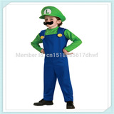 Fantasia Mario Bros Ou Luigi Infantil