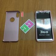 Case Capa 360 iPhone X C/ Película De Vidro