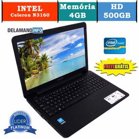 Notebook Asus Celeron N3160 15.6 4gb Tela 15.6 Preto (10128)