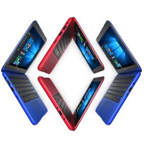 Laptop De Colores Dell 11,6 Azul Roja Blanca 4gb 32gb Mini