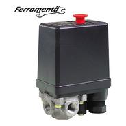 Pressostato Automatico Compressor Ar 90/125psi 4 Vias