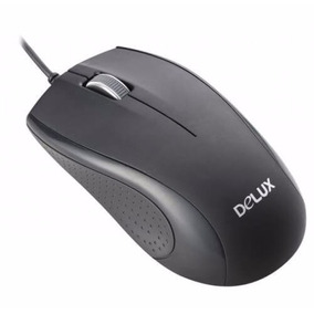 Mouse Alambrico Delux M375 Usb Optico 1000dpi Ergonomico