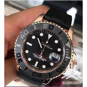 c90997d76c2 Rolex Yachtmaster Black Dial Replica De Luxo - Relógios De Pulso no ...
