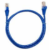 Cabo Ethernet Azul Rj45 Canaleta Cabo Rede