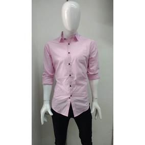 Camisa Para Caballero. Rosa.