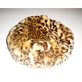 Gorra Tipo Rusa Ushanka Animal Print Leopardo Usada Promo
