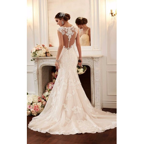 Vestido Noiva Longo Sereia Casamento Renda Importado Festa