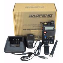Radio Portatil Baofeng Uv-5r + Plus Vhf/uhf 100% Nuevo