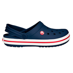 Crocs Crocband Clog Originales Mens Navy Red - Toto