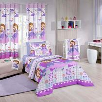 Edredom Infantil Princesa Sofia Friends Disney Santista