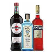 Kit Negroni Premium X 3 Botellas - Tomate Algo® -