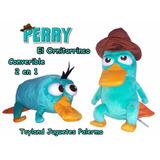 Perry El Ornitorrinco Y Agente P De Phineas Y Ferb 2 En 1!