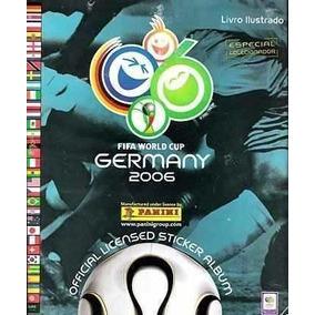 Lsjp Album Copa Mundo Futebol 2006 Completo Excelente Estado