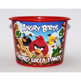 10 Balde Baldinhos Personalizados Angry Birds 1,5 L