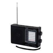 Bocina Portatil Radio Am Fm Usb Aux Bluetooth Panel Solar
