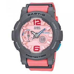 3fac4fe436d Relógio Casio Baby G Feminino Bga 180 2bdr - Relógios no Mercado ...