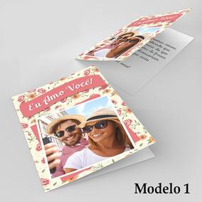 Presente Namorados Cartão Personalizado Com Foto E Frases