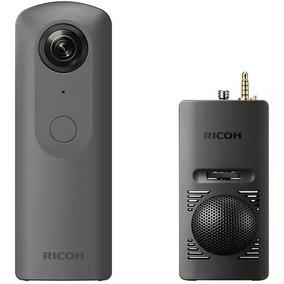 Promoção Câmera 360 Ricoh Theta V 4k + Kit Ta-1 Som Incrível
