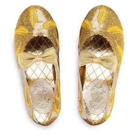 Zapatillas De La Princesa Bella Originales De Disney Store
