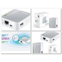 Roteador Tp-link Router Tl-mr 3020 3g - Versão 1.9