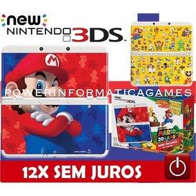 Nintendo New 3ds Edição Super Mario 3d Land + Bolsa + Fonte
