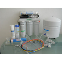 Filtro Osmosis Inversa Residencial 100gpd/5 Pasos C/bomba