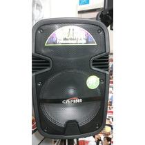 Bafle Parlante Karaoke Potenciado Con Bat 12 Mp3 Con Blueth