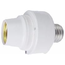 Sensor Presença Sonoro Com Fotocélula P/ Lâmpada Soquete E27