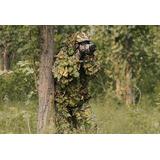 Traje Ghillie Folha Camuflagem 3d Caça Sniper