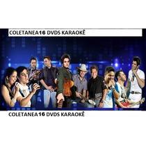 15+1 Dvds Karaokê 2015 2014 Musicas Pop Rock,sertanejo Mpb,