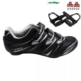 Sapatilha Venzo Speed Vsx +pedal Wellgo