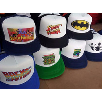 Gorras Trucker Sublimadas