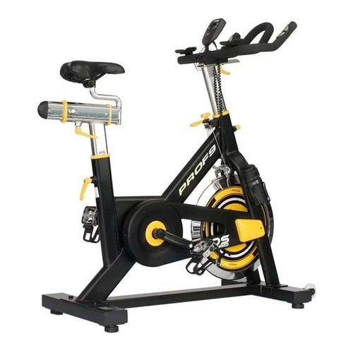 Bicicleta ergométrica Spinning Kikos F9 preta
