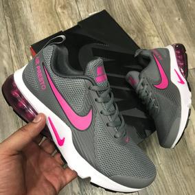 56ea67dbd0ee3 Rosas Negras Artificiales - Tenis Nike para Mujer Gris claro en ...