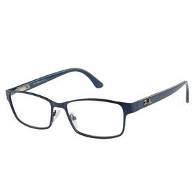 99f5f4d118578 Armacao Oculos Feminino Preto E Dourado - Óculos Azul no Mercado ...