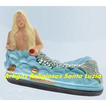 Imagem Linda Sereia Ondina Escultura 40cm Preço De Fabrica