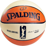 Balón Pelota Basquet Spalding Wnba Oficial Basketball N° 6