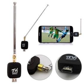 Receptor De Tv Dvb-t2 Mini Micro Usb Sintonizador + Antena